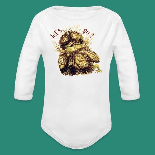 let`s goFrauen-T-Shirt - Baby Bio-Langarm-Body