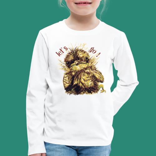 let`s goFrauen-T-Shirt - Kinder Premium Langarmshirt