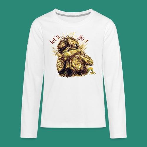 let`s goFrauen-T-Shirt - Teenager Premium Langarmshirt