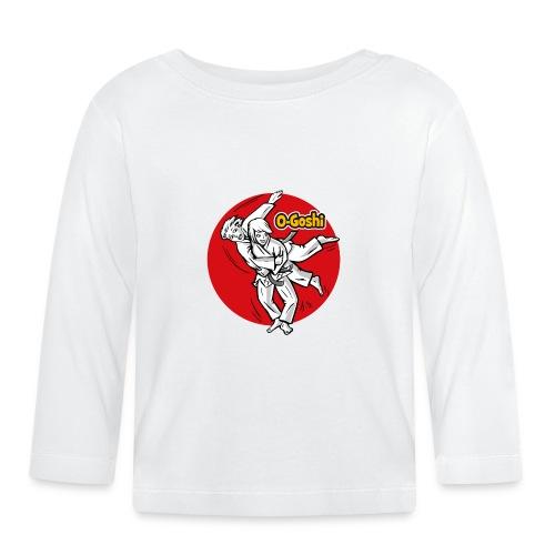Judotechnik O-Goshi - Baby Langarmshirt