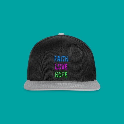 Faith Love Hope - Snapback Cap