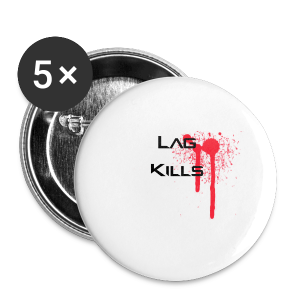 Lag Kills Travel Mug - Buttons small 25 mm