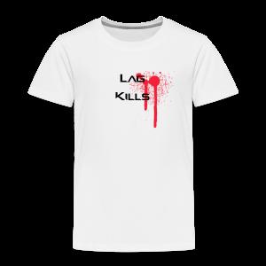 Lag Kills Travel Mug - Kids' Premium T-Shirt