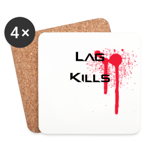 Lag Kills Travel Mug - Coasters (set of 4)