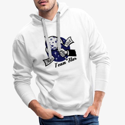 Moon on a Stick Team Star - Men's Premium Hoodie