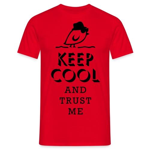 TWEETLERCOOLS - keep cool - Männer T-Shirt