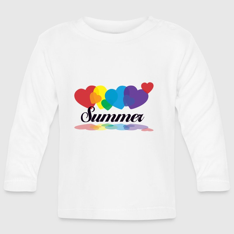 rainbow summer Kids and Babies - Baby Long Sleeve T-Shirt
