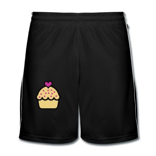 CupCake Love . Babero - Pantalones cortos de fútbol hombre