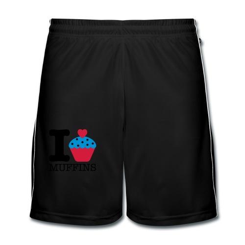 Muffins . Camiseta ecológica niño - Pantalones cortos de fútbol hombre