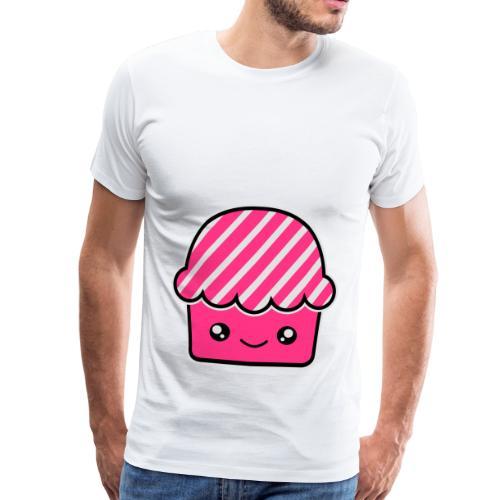 Smile Cupcake . Bolsa de tela ecológica - Camiseta premium hombre