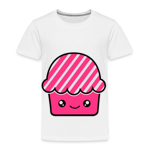 Smile Cupcake . Bolsa de tela ecológica - Camiseta premium niño