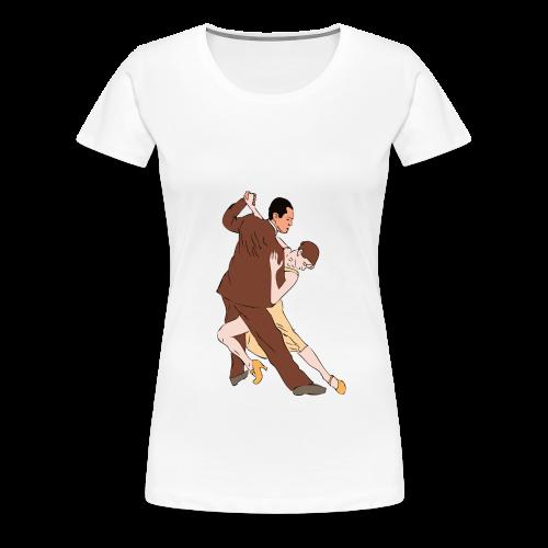 Tango  Tasche - Frauen Premium T-Shirt