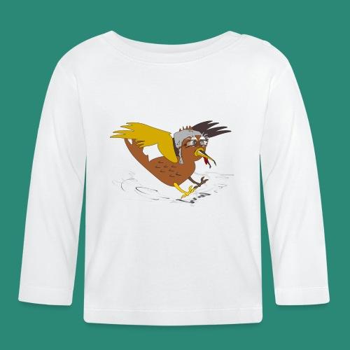 Vogel Pilot Männershirt - Baby Langarmshirt