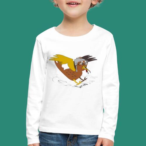 Vogel Pilot Männershirt - Kinder Premium Langarmshirt