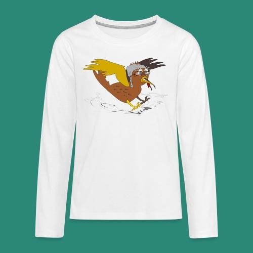 Vogel Pilot Männershirt - Teenager Premium Langarmshirt