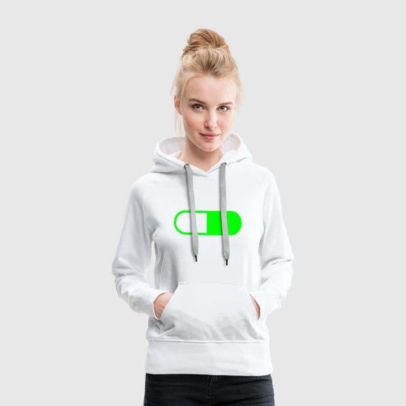 Pille Pill Party Tablette Pullover & Hoodies - Frauen Premium Hoodie
