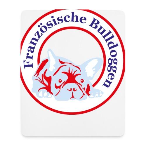 Bulldoggen Tasse - Mousepad (Hochformat)