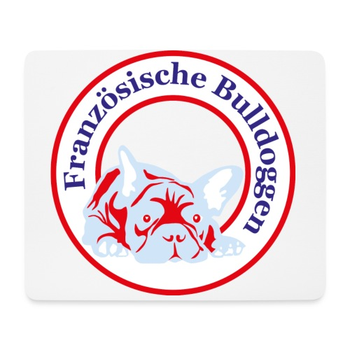 Bulldoggen Tasse - Mousepad (Querformat)
