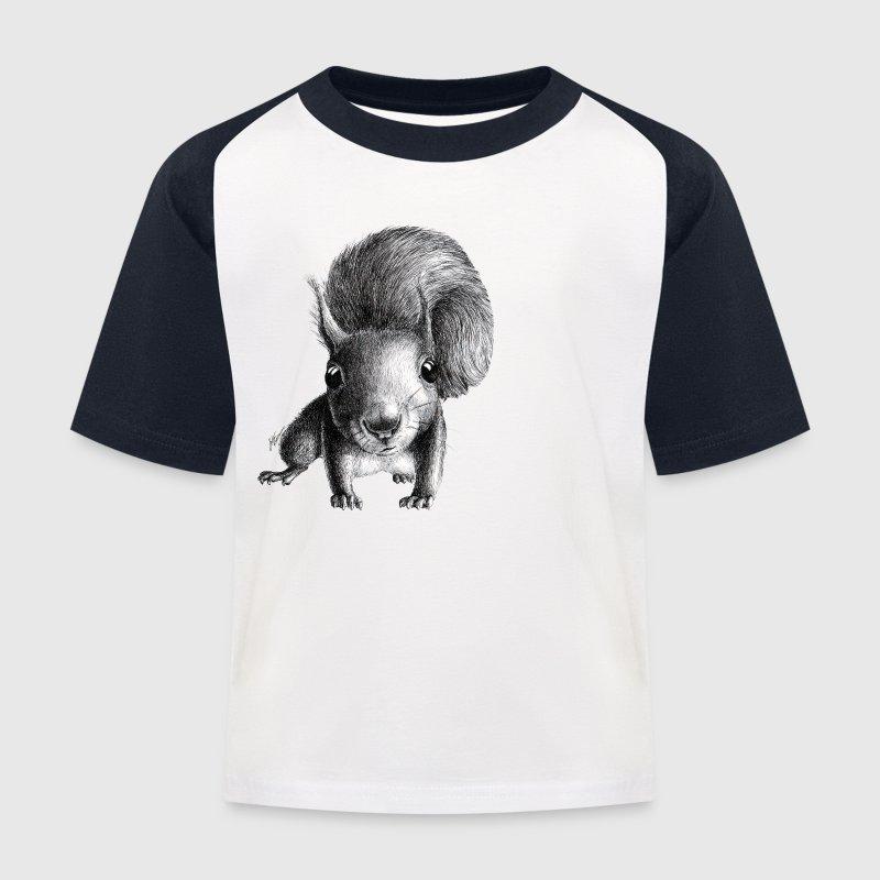 écureuil - T-shirt baseball Enfant