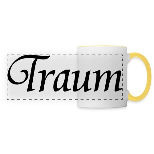 Traumpaar T-Shirt Traum Weiß/Schwarz - Panoramatasse