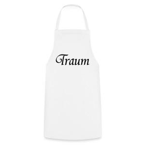 Traumpaar T-Shirt Traum Weiß/Schwarz - Kochschürze
