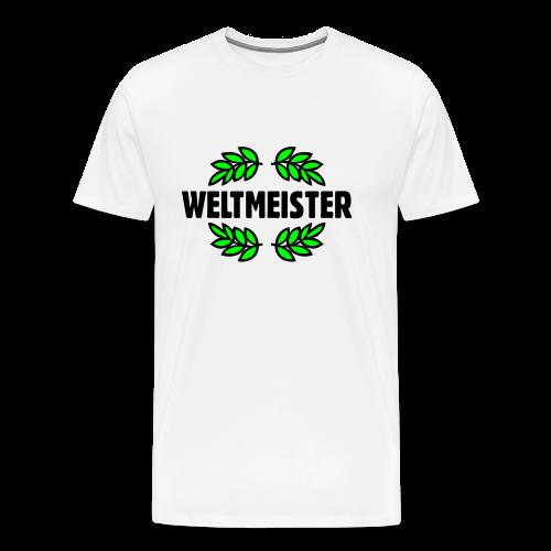 Weltmeister T-Shirt Gold - Männer Premium T-Shirt