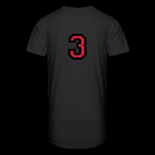 Nummer Drei 3 T-Shirt - Männer Urban Longshirt