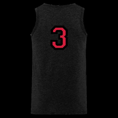 Nummer Drei 3 T-Shirt - Männer Premium Tank Top