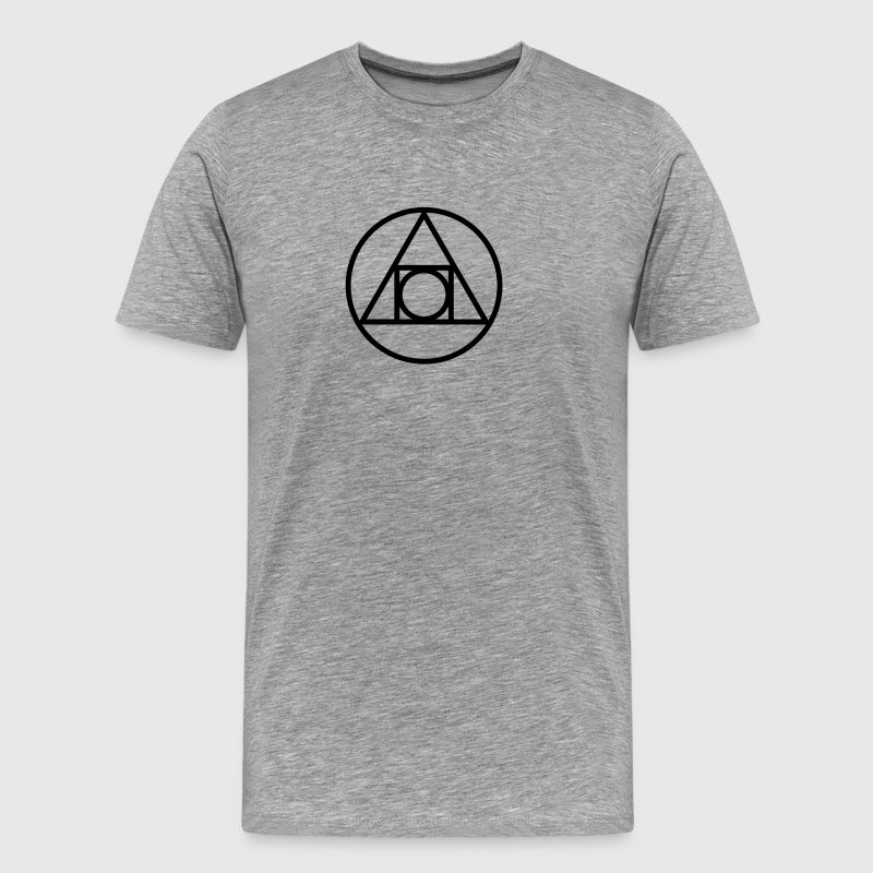 Squaring the circle T-Shirts - Men's Premium T-Shirt