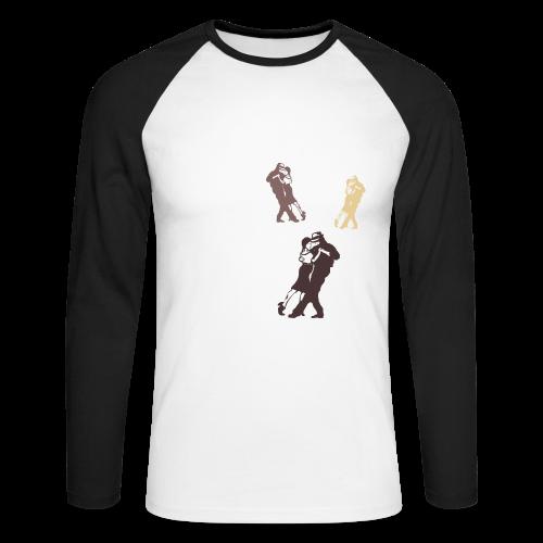 Tango Shirt für Kinder - Männer Baseballshirt langarm