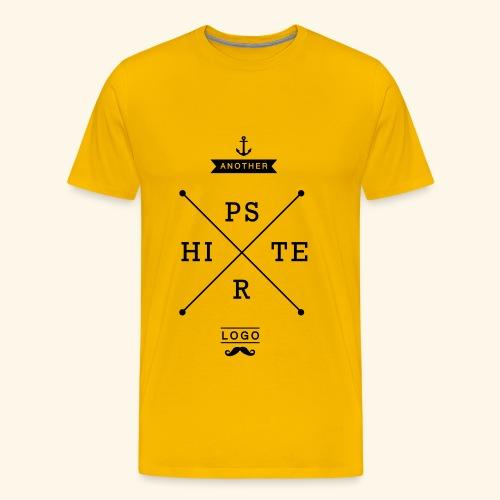 Hipster Logo Shirt T-Shirts - Männer Premium T-Shirt