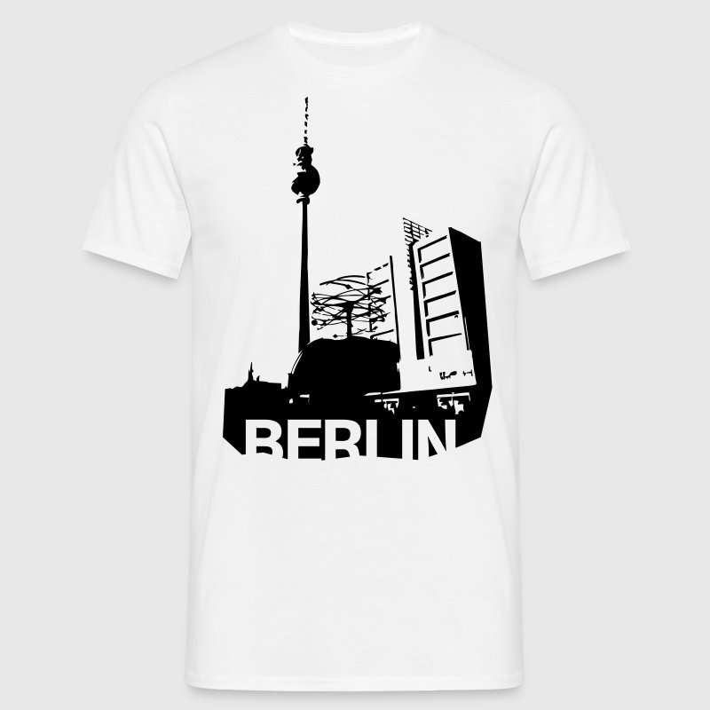 Alexanderplatz in Berlin T-Shirts - Men's T-Shirt