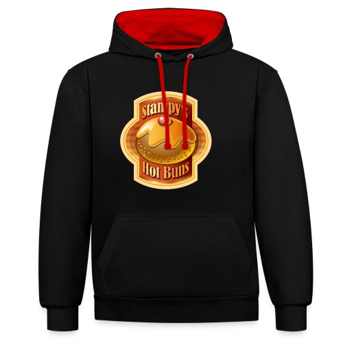 Stampy's Hot Buns - Child's T-shirt  - Contrast Colour Hoodie