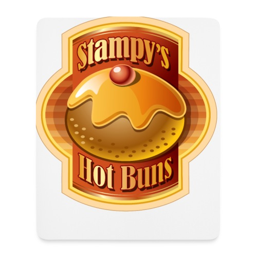 Stampy's Hot Buns - Child's T-shirt  - Mouse Pad (vertical)