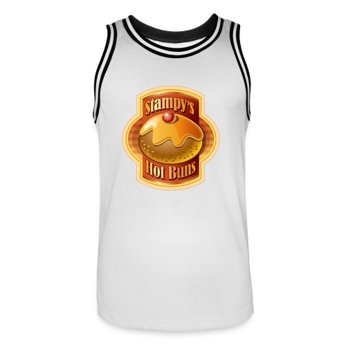 Stampy's Hot Buns - Child's T-shirt  - Men's Basketball Jersey