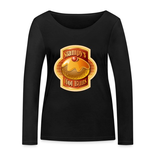 Stampy's Hot Buns - Child's T-shirt  - Women's Organic Longsleeve Shirt by Stanley & Stella