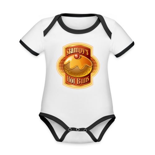 Stampy's Hot Buns - Child's T-shirt  - Organic Baby Contrasting Bodysuit