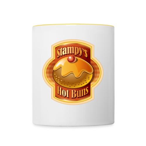 Stampy's Hot Buns - Child's T-shirt  - Contrasting Mug
