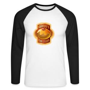 Stampy's Hot Buns - Child's T-shirt  - Men's Long Sleeve Baseball T-Shirt
