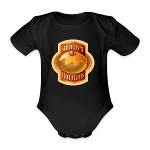 Stampy's Hot Buns - Child's T-shirt  - Organic Short-sleeved Baby Bodysuit
