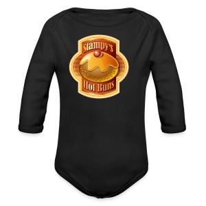 Stampy's Hot Buns - Child's T-shirt  - Organic Longsleeve Baby Bodysuit