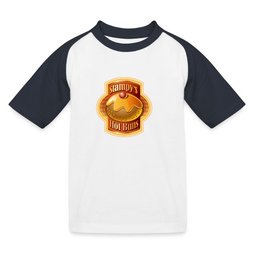 Stampy's Hot Buns - Child's T-shirt  - Kids' Baseball T-Shirt