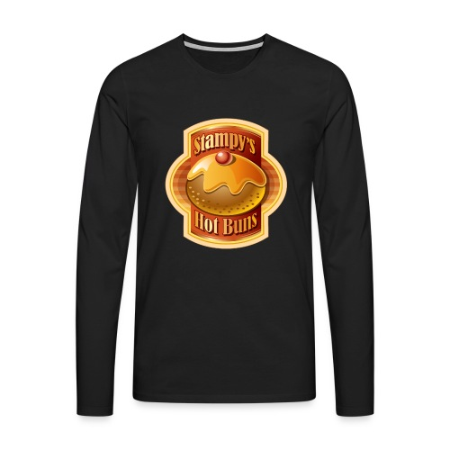 Stampy's Hot Buns - Child's T-shirt  - Men's Premium Longsleeve Shirt