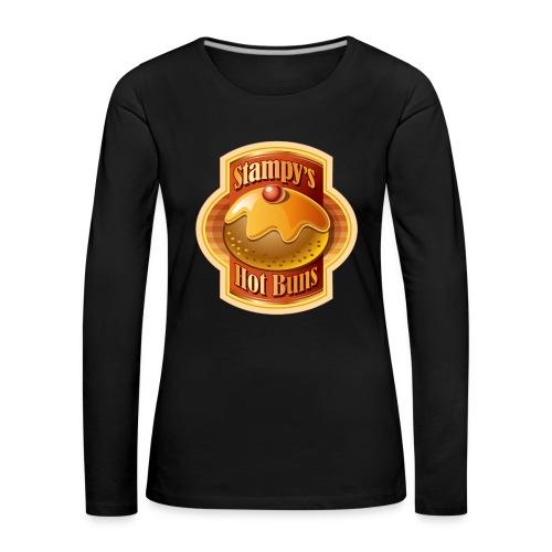 Stampy's Hot Buns - Child's T-shirt  - Women's Premium Longsleeve Shirt