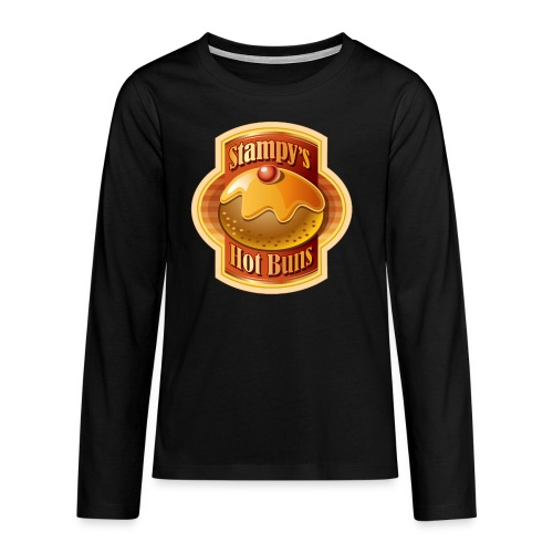 Stampy's Hot Buns - Child's T-shirt  - Teenagers' Premium Longsleeve Shirt