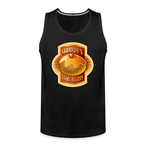 Stampy's Hot Buns - Child's T-shirt  - Men's Premium Tank Top