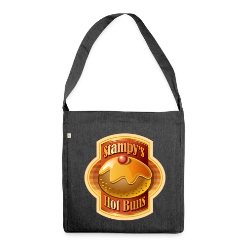 Stampy's Hot Buns - Child's T-shirt  - Shoulder Bag made from recycled material
