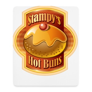 Stampy's Hot Buns - Bag - Mouse Pad (vertical)