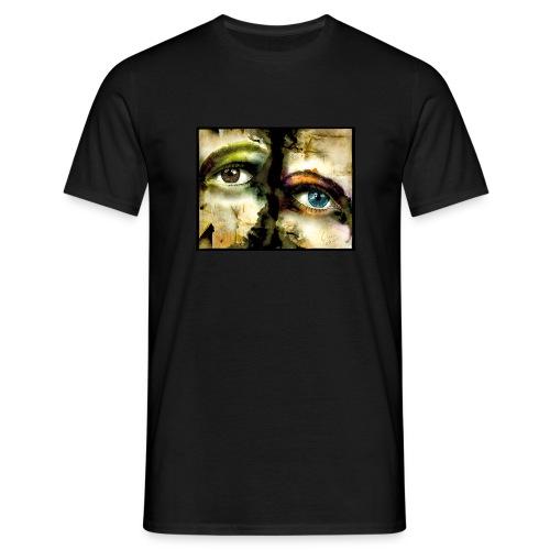 2Eyes2Faces by carographic @ jute Beutel  - Männer T-Shirt