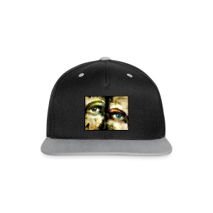 2Eyes2Faces by carographic @ jute Beutel  - Kontrast Snapback Cap